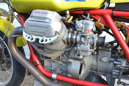 1973 Moto Guzzi V7 Race Bike Engine