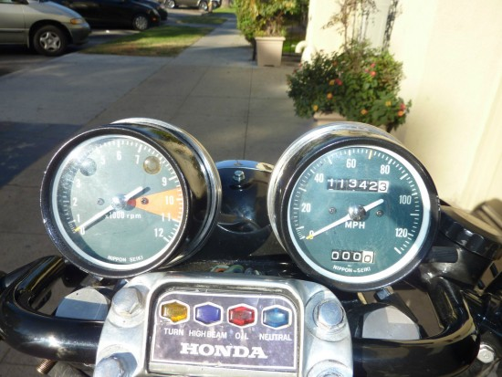 1975 Honda CB750 Cafe Dash