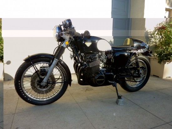 1975 Honda CB750 Cafe L Side