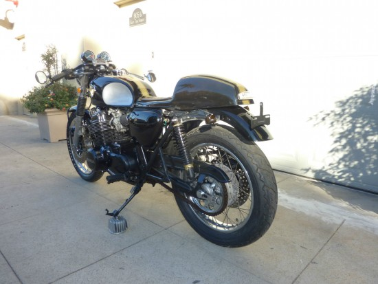 1975 Honda CB750 Cafe L Side Rear