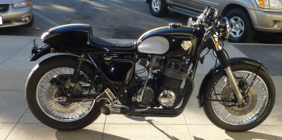 1975 Honda CB750 Cafe R Side