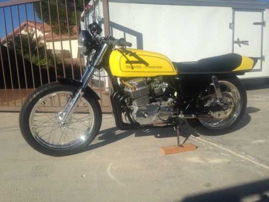 1976 Honda CB750 Salt Flat L Side