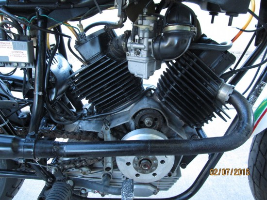 1982 Moto Morini 250 Race Bike R Engine