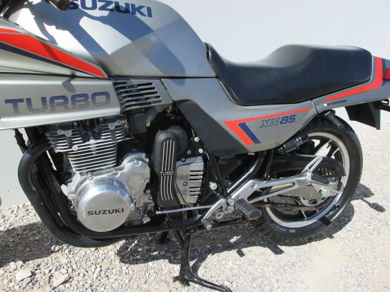 1983 Suzuki XN85 Turbo L Side Engine