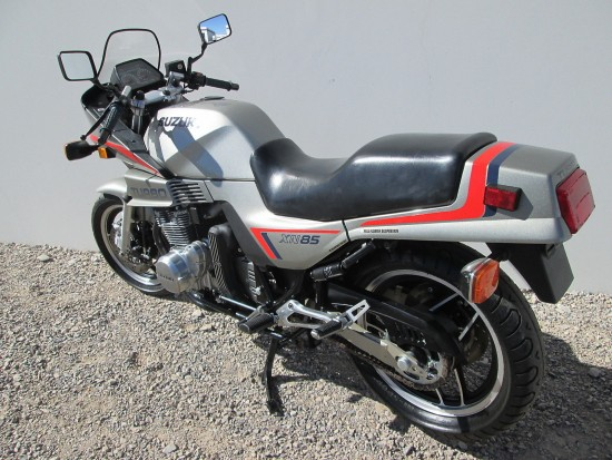 1983 Suzuki XN85 Turbo L Side Rear