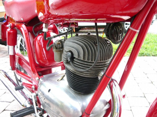 1958 MV Agusta 125 Tourismo Engine Detail