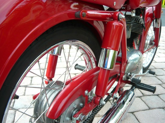 1958 MV Agusta 125 Tourismo Rear Suspension