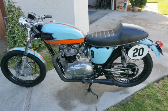 1964 Triumph Trophy L Side