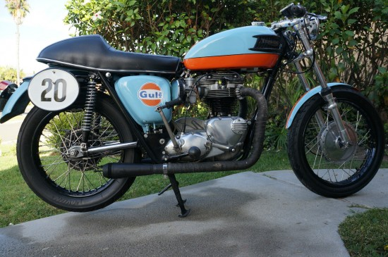 1964 Triumph Trophy R Side