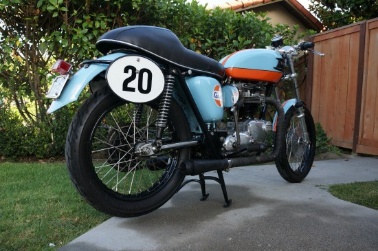 1964 Triumph Trophy R Side Rear