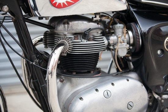 1966 BSA Lightning Engine Detail