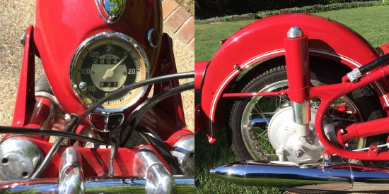 1969 BMW R69US Clocks