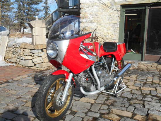 1978 Ducati 900 NCR L Side Front