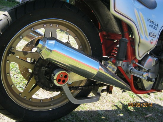 1981 Laverda Formula Mirage Rear Wheel