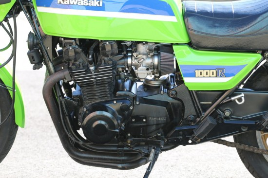 1982 Kawasaki GPz1100 L Side Engine