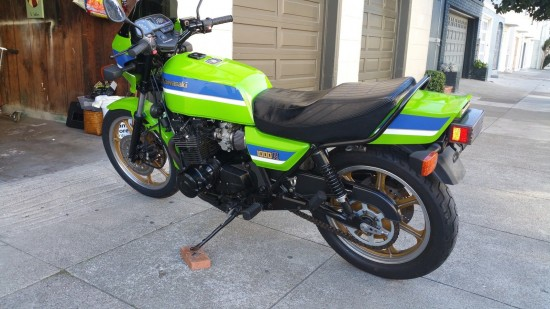 1982 Kawasaki GPz1100 L Side Rear