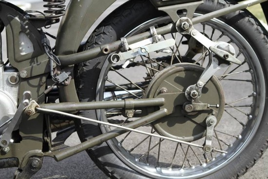 1955 Moto Guzzi Airone Rear Suspension