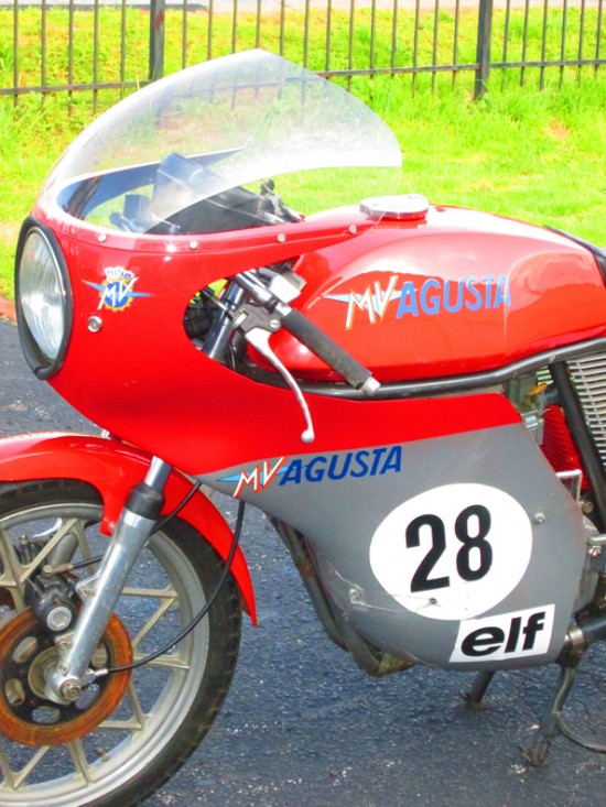 1977 MV Agusta Ipotesi L Side Front