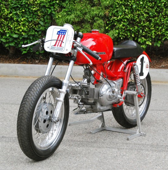 1967 Aermacchi 350 Race Bike L Front