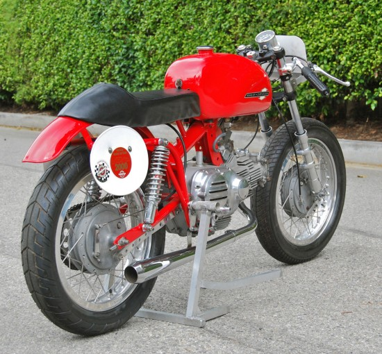 1967 Aermacchi 350 Race Bike R Rear