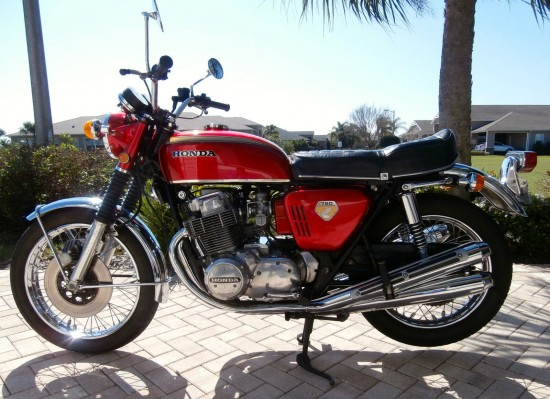 1969 Honda CB750 L Side