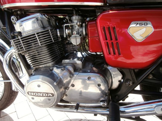 1969 Honda CB750 L Side Engine