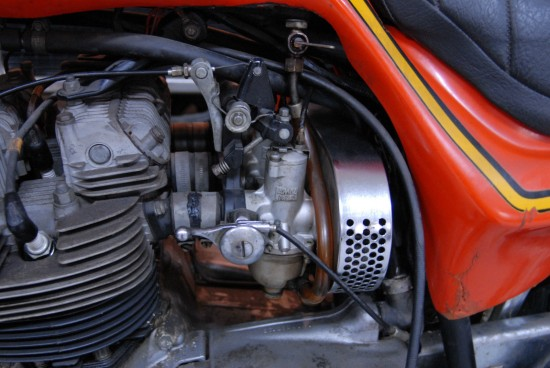 1973 Triumph X75 Hurricane L Side Carbs