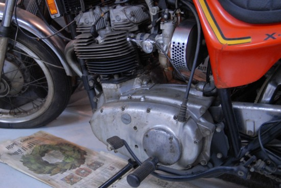 1973 Triumph X75 Hurricane L Side Engine