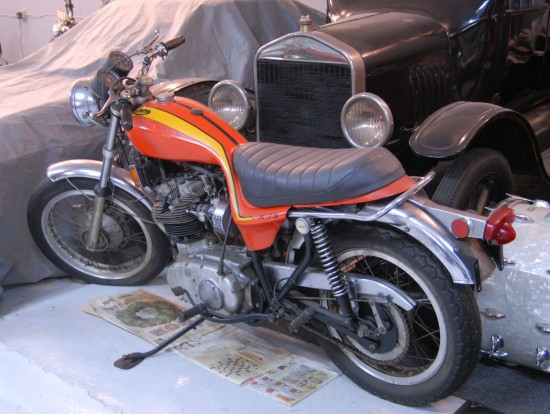 1973 Triumph X75 Hurricane L Side Rear