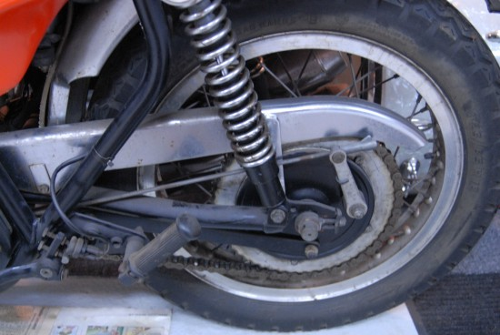 1973 Triumph X75 Hurricane Rear Suspension