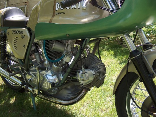 1974 Ducati 750 Super Sport R Engine Detail
