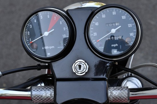 1977 Laverda Jota Clocks