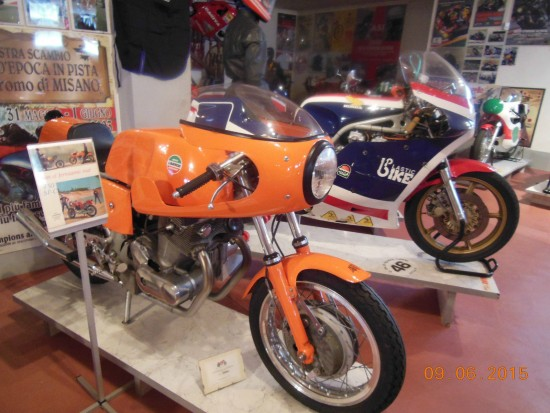 1972 Laverda SFC Display