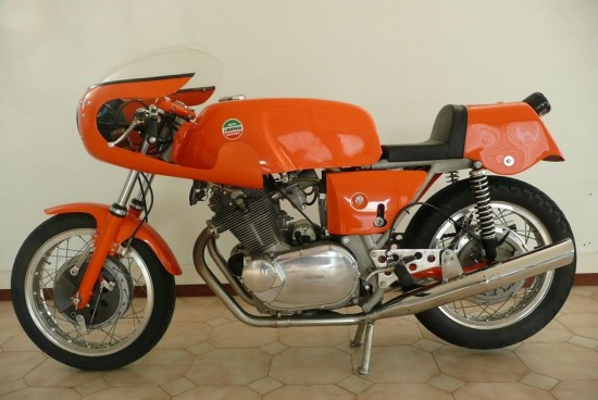 1972 Laverda SFC L Side