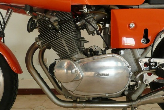 1972 Laverda SFC L Side Engine
