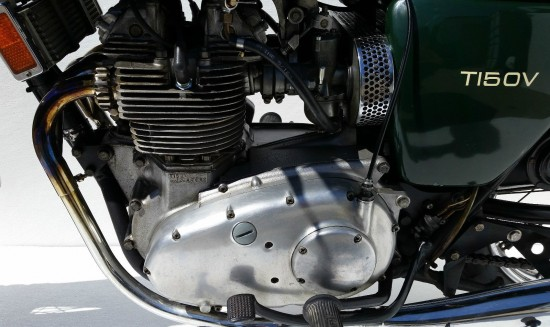 1974 Triumph Trident L Side Engine