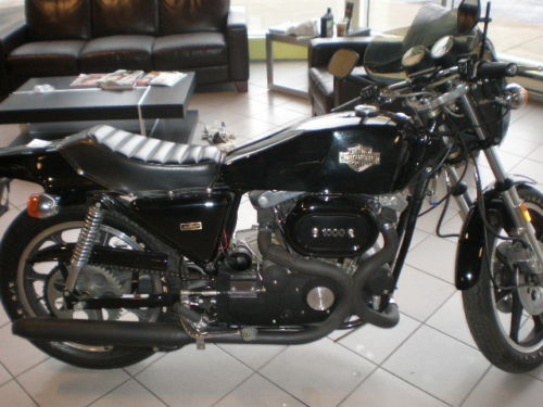 1977 Harley XLCR R Side