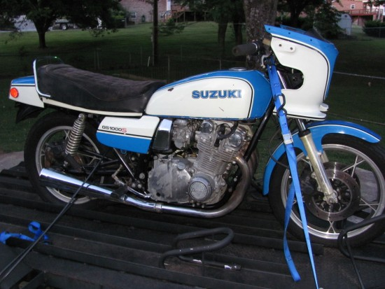 1980 Suzuki GS1000S Wes Cooley R Side