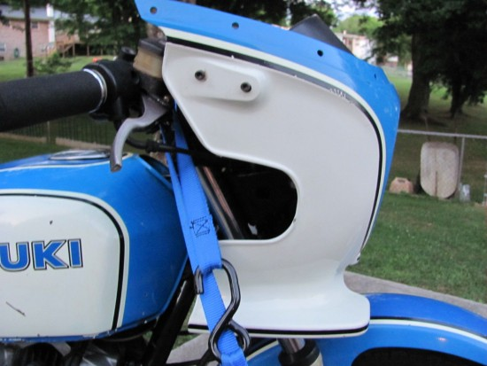1980 Suzuki GS1000S Wes Cooley R Side Fairing