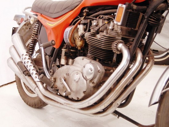 1973 Triumph X75 R Side Engine