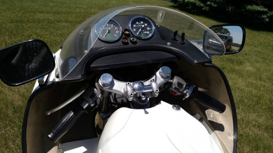 1974 John Player Norton Cockpit
