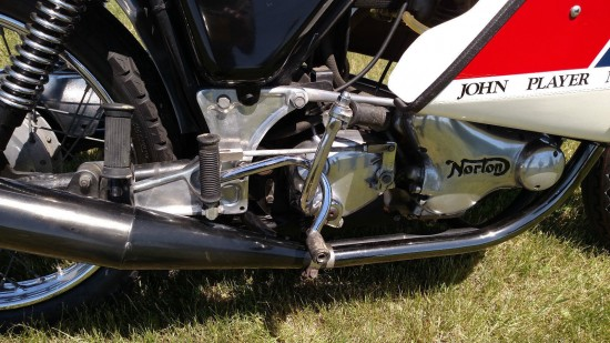 1974 John Player Norton R Side Engine