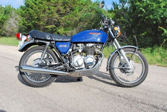 1975 Honda CB400F R Side