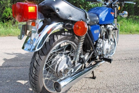 1975 Honda CB400F R Side Rear