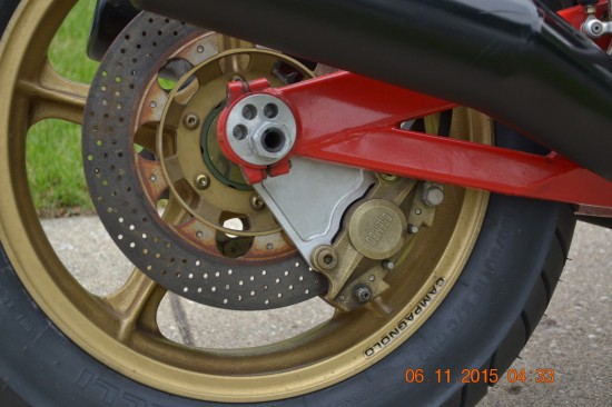 1981 Bimota HB1 Rear Wheel