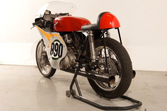 1963 Honda 250 Race Bike L Rear