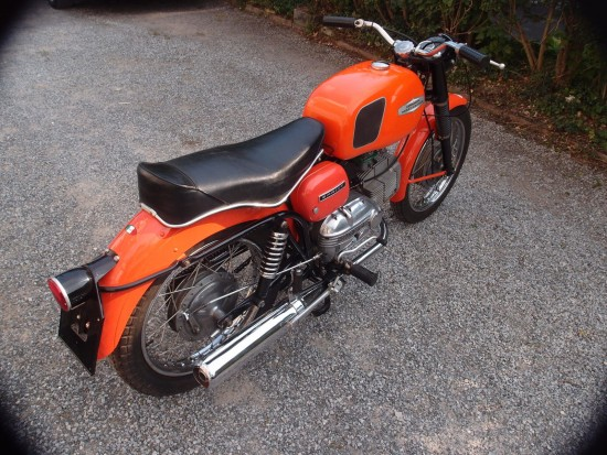 1967 Harley Davidson Sprint 250 R Side Rear