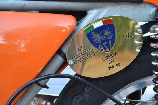 1972 Laverda SFC Badge