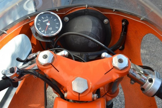 1972 Laverda SFC Cockpit