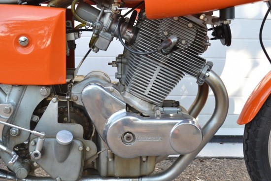 1972 Laverda SFC R Side Engine